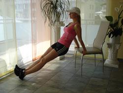 trizeps zuhause trainieren